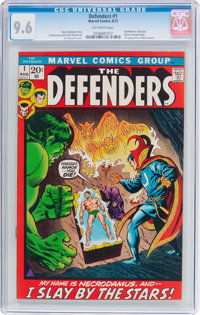 The Defenders #1 (Marvel, 1972) CGC NM+ 9.6 Off-white pages