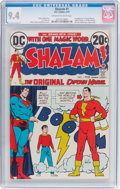 Bronze Age (1970-1979):Superhero, Shazam! #1 (DC, 1973) CGC NM 9.4 Off-white to white pages....
