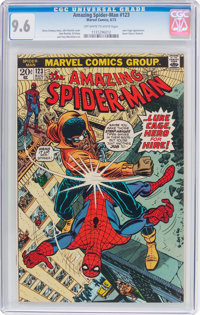 The Amazing Spider-Man #123 (Marvel, 1973) CGC NM+ 9.6 Off-white to white pages