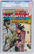 Silver Age (1956-1969):War, Showcase #45 Sgt. Rock (DC, 1963) CGC FN/VF 7.0 Off-white pages....
