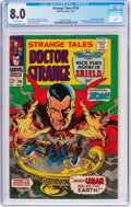 Silver Age (1956-1969):Horror, Strange Tales #156 (Marvel, 1967) CGC VF 8.0 Off-white pages....