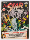 Golden Age (1938-1955):Superhero, All Star Comics #15 (DC, 1943) Condition: GD+....