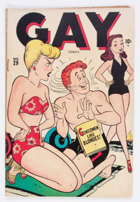 Gay Comics #29 (Timely, 1947) Condition: VG/FN