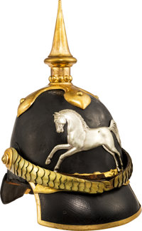 Hannover Model 1842 Enlisted Man's Helmet, Circa 1849