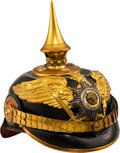 Militaria:Helmets, Prussian Guard Regiment Model 1897 Officer's Helmet....