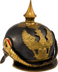 Militaria:Helmets, Prussian Jaeger zu Pferde Model 1915 Enlisted Man'sHelmet....