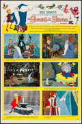 "Movie Posters:Animation, The Sword in the Stone (Buena Vista, 1963). One Sheet (27"" X 41"") Style B. Animation.. ..."