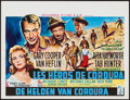 "Movie Posters:War, They Came to Cordura (Columbia, 1959). Belgian (14.5"" X 19""). War....."