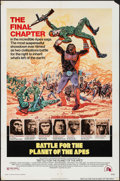 "Movie Posters:Science Fiction, Battle for the Planet of the Apes (20th Century Fox, 1973). OneSheet (27"" X 41""). Science Fiction.. ..."