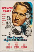 "Movie Posters:Crime, The People Against O'Hara & Other Lot (MGM, 1951). One Sheets (2) (27"" X 41""). Crime.. ... (Total: 2 Items)"