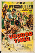 "Movie Posters:Adventure, Voodoo Tiger (Columbia, 1952). One Sheet (27"" X 41""). Adventure....."