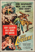"Movie Posters:Adventure, The Looters (Universal International, 1955). One Sheet (27"" X 41"").Adventure.. ..."