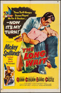 """Movie Posters:Film Noir, The Long Wait & Other Lot (United Artists, 1954). One Sheets (2) (27"""" X 41""""). Film Noir.. ... (Total: 2 Items)"""