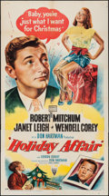 "Movie Posters:Comedy, Holiday Affair (RKO, 1949). Three Sheet (41"" X 80""). Comedy.. ..."
