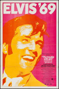 """Movie Posters:Elvis Presley, The Trouble with Girls (MGM, 1969). One Sheet (27"""" X 41""""). Elvis Presley.. ..."""