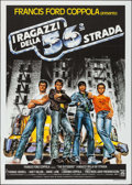 "Movie Posters:Crime, The Outsiders (Medusa, 1983). Italian 2 - Fogli (39.25"" X 55.25""). Crime.. ..."