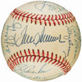 Autographs:Baseballs, 1969 New York Mets Team Signed Baseball (23 Signatures)....