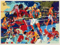 Fine Art - Work on Paper:Print, LeRoy Neiman (American, 1921-2012). Homage to Ali, 1991.Screenprint in colors. 28 x 38 inches (71.1 x 96.5 cm) (image)...
