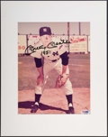 "Autographs:Photos, Mickey Mantle ""1951"" Signed Photograph. ..."