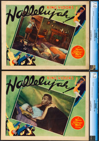 """Hallelujah! (MGM, 1929). CGC Graded Lobby Cards (2) (27"""" X 41""""). ... (Total: 2 Items)"""