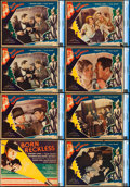 """Movie Posters:Crime, Born Reckless (Fox, 1930). CGC Graded Title Lobby Card & LobbyCards (7) (11"""" X 14"""").. ... (Total: 8 Items)"""