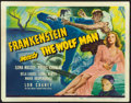 "Movie Posters:Horror, Frankenstein Meets the Wolf Man (Universal, 1943). Title Lobby Card(11"" X 14"") Karl Godwin Artwork.. ..."