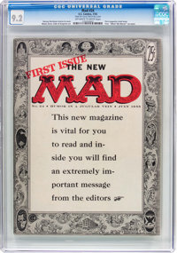 MAD #24 Bill Elder File Copy (EC, 1955) CGC NM- 9.2 Off-white to white pages