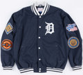 Baseball Collectibles:Others, Detroit Tigers World Series Championship Jacket....