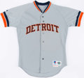 Baseball Collectibles:Uniforms, 1993 Tony Phillips Game Worn Detroit Tigers Jersey....