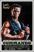"""Movie Posters:Action, Commando (20th Century Fox, 1985). One Sheet (27"""" X 41"""") """"Let'sParty"""" Style. Action.. ..."""