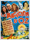 """Movie Posters:Fantasy, The Wizard of Oz (MGM, R-1989). French Grande (46"""" X 62.25""""). Fantasy.. ..."""