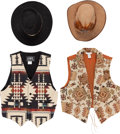 Music Memorabilia:Costumes, A Connie Francis Group of Western Wear, Circa 1980s.... (Total: 2 )