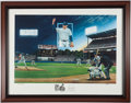 Autographs:Others, Nolan Ryan Signed Artist Proof Lithograph - Limited Edition #33 of34....