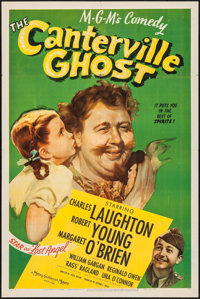"The Canterville Ghost (MGM, 1944). One Sheet (27"" X 41""). Comedy"