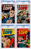 Golden Age (1938-1955):Romance, First Love Illustrated #64-67 CGC-Graded File Copy Group (Harvey,1956) CGC VF+ 8.5 Light tan to off-white pages.... (Total: 4 ComicBooks)