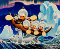 Memorabilia:Disney, Carl Barks Luck of the North Signed Limited Edition Miniature Lithograph Print #174/595 (Another Rainbow, 2000)....