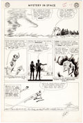 Original Comic Art:Panel Pages, Carmine Infantino and Joe Giella Mystery in Space #84 StoryPage 7 Original Art (DC Comics, 1963)....