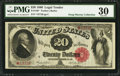 Large Size:Legal Tender Notes, Fr. 146* $20 1880 Legal Tender PMG Very Fine 30.