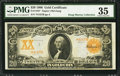 Large Size:Gold Certificates, Fr. 1183* $20 1906 Gold Certificate PMG Choice Very Fine 35.. ...