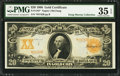 Fr. 1183* $20 1906 Gold Certificate PMG Choice Very Fine 35 EPQ