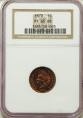Proof Indian Cents: , 1879 1C PR65 Red NGC. NGC Census: (16/21). PCGS Population: (42/37). CDN: $950 Whsle. Bid for problem-free NGC/PCGS PR65. M...