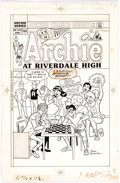 Original Comic Art:Covers, Dan DeCarlo Archie at Riverdale High #109 Cover Original Art(Archie Comics, 1986)....