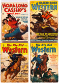 Pulps:Western, Assorted Western Pulps Group of 33 Canadian Editions (Various, 1940-51) Condition: Average GD.... (Total: 33 Comic Books)