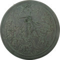 Bronze:European, A Large Continental Classical Architectural Roundel, late 19thcentury. 28 inches diameter (71.1 cm). ...