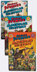 Golden Age (1938-1955):Non-Fiction, Picture Stories From American History #1-3 Group (EC, 1945-47)....(Total: 3 Comic Books)