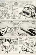 Original Comic Art:Panel Pages, Jack Kirby and Joe Sinnott Fantastic Four #61 Story Page 11Original Art (Marvel, 1967)....