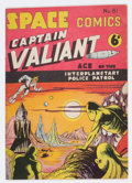 Golden Age (1938-1955):Science Fiction, Space Comics #81 (Arnold Book Co., 1954) Condition: FN+....