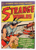 Golden Age (1938-1955):Science Fiction, Strange Worlds #9 (Avon, 1952) Condition: VG/FN....