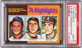 Baseball Cards:Singles (1970-Now), 1975 Topps Nolan Ryan - '74 Highlights #7 PSA Gem Mint 10....