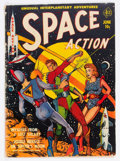 Golden Age (1938-1955):Science Fiction, Space Action #1 (Ace, 1952) Condition: GD+....
